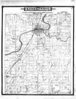 Koshkonong Township, Ft Arkinson, Jefferson County 1887
